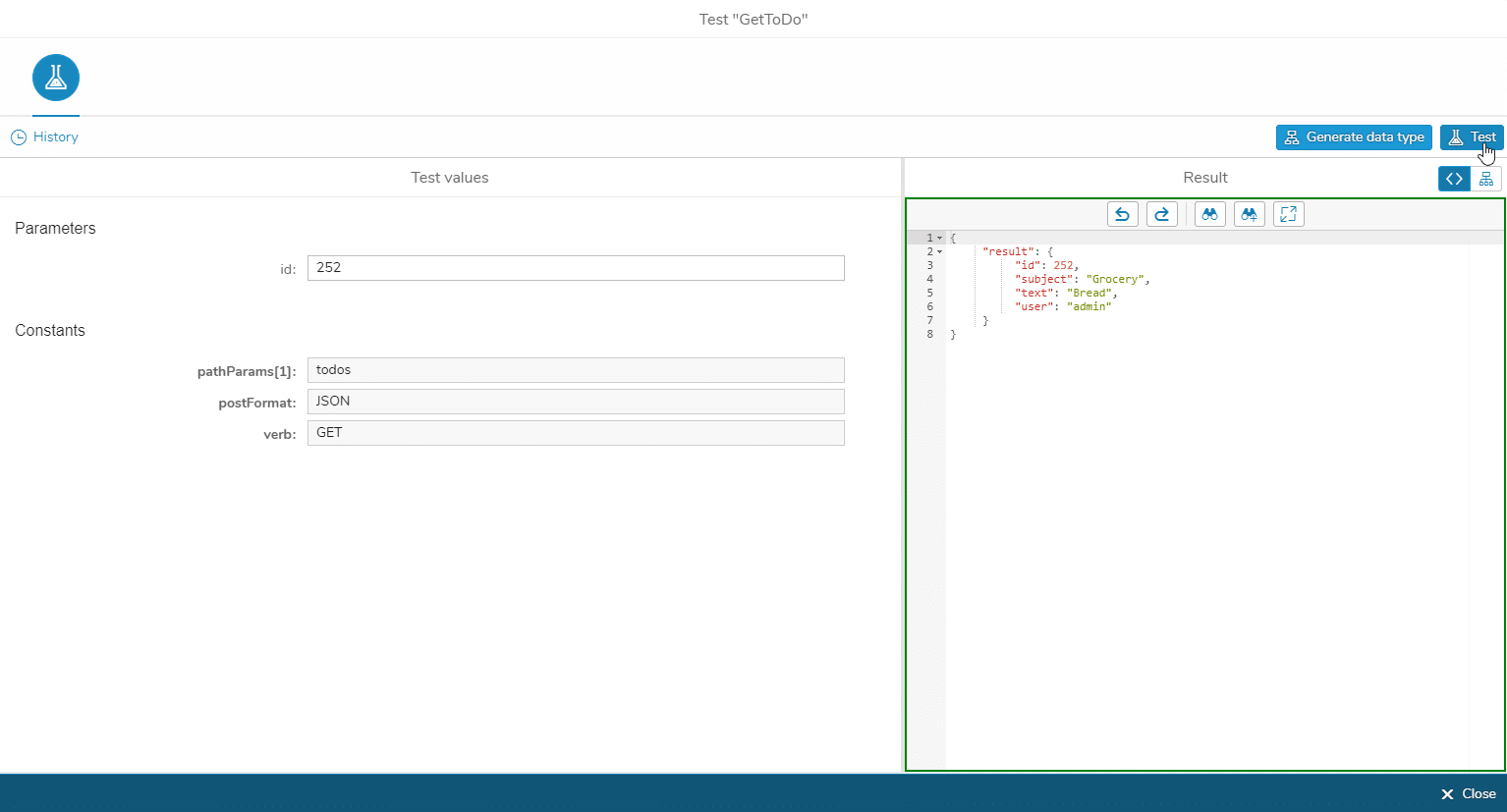 Test Connectorcall